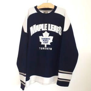 NHL AUTHENTIC Maple Leafs Jersey Sz L